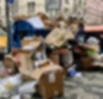 Třídění odpadů kontejnery