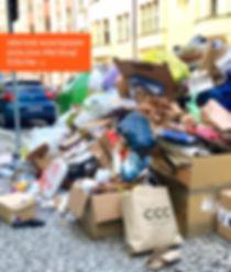 Třídění odpadu | kontejnery Karlín, Praha 8