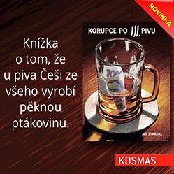 Kniha Korupce po 3. pivu banner