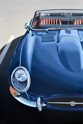 Jaguar E Type by Pavel Holý