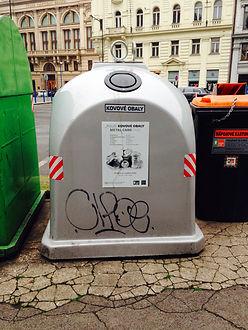 Třídění odpadu - hliník