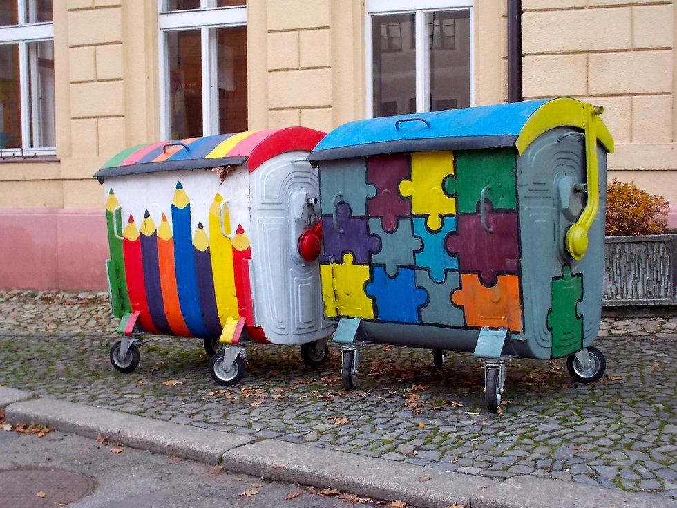 Galerie popelnic a kontejnerů na třídění odpadu.cz