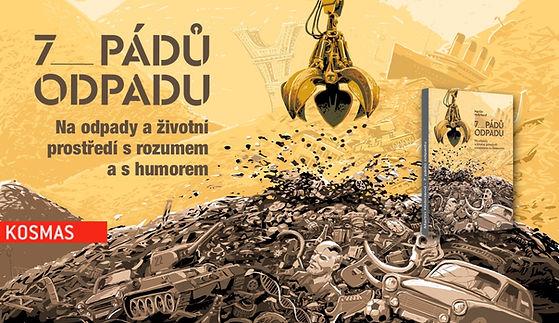 Kniha 7 pádů odpadu.