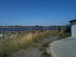Solární panel odpad