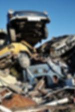 Třídění odpadu - Autovraky