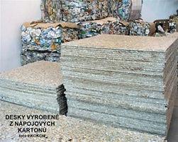 Recyklace nápojových kartonů