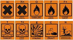 Přehled symbolů nebezpečných odpadů