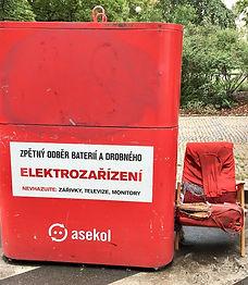 Elektroodpad Karlín