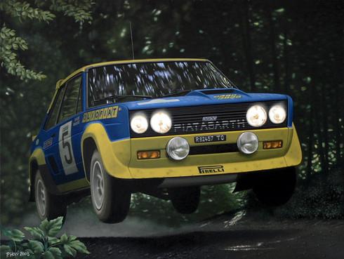 Fiat 131 Abatrh by Pavel Holý