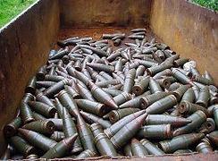 Ilustrační foto, delaborace munice