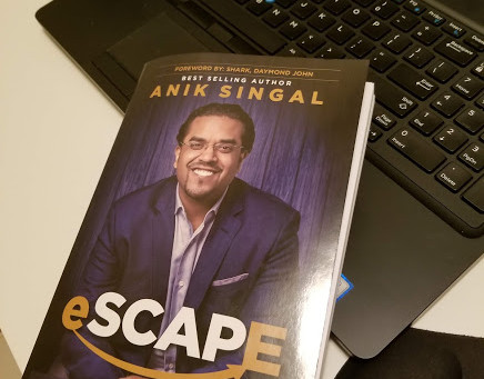 Review of just received and already read through twice - eSCAPE by Anik Singal
