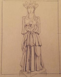 Athena Sketch Study