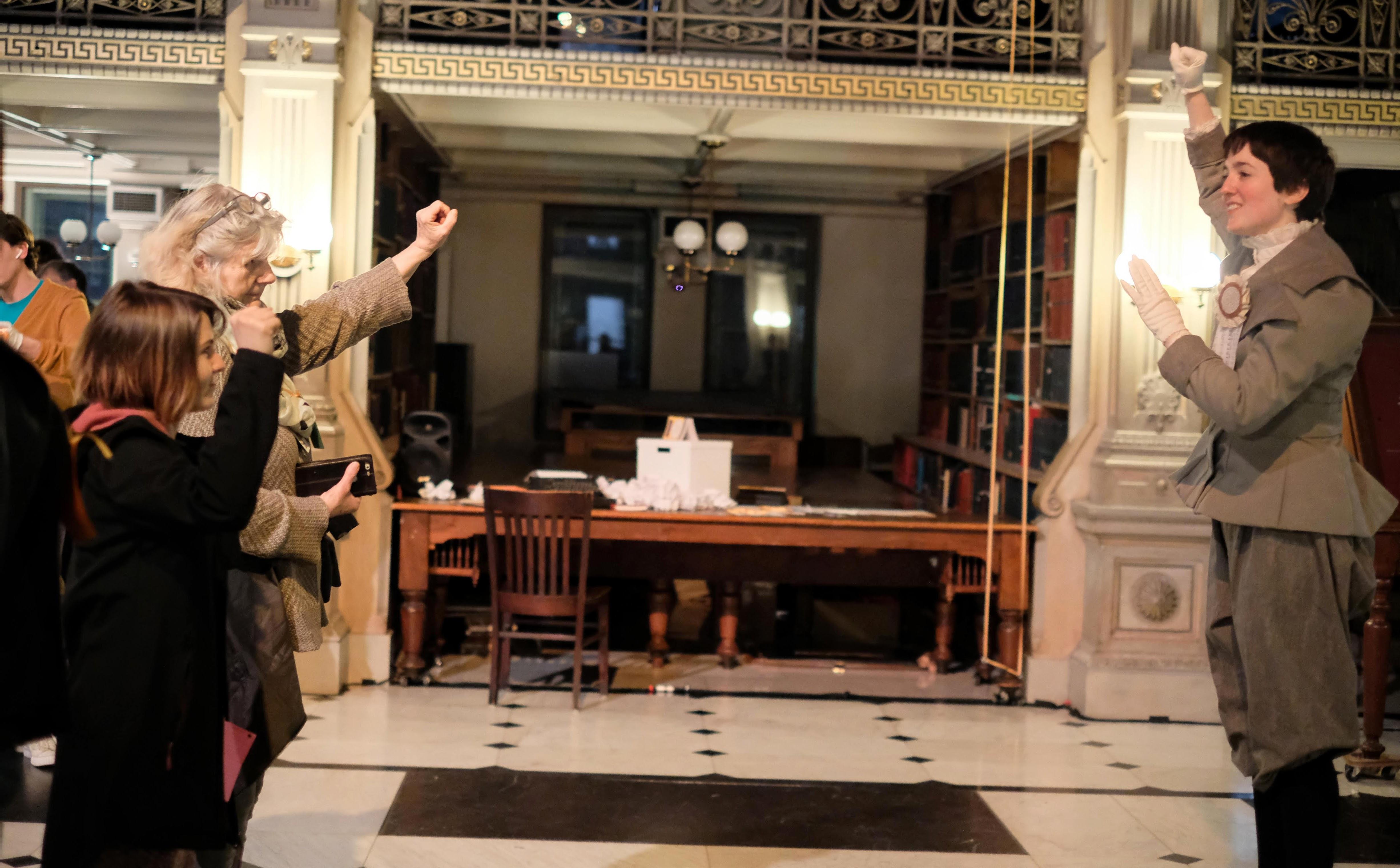 Suffragette Performance