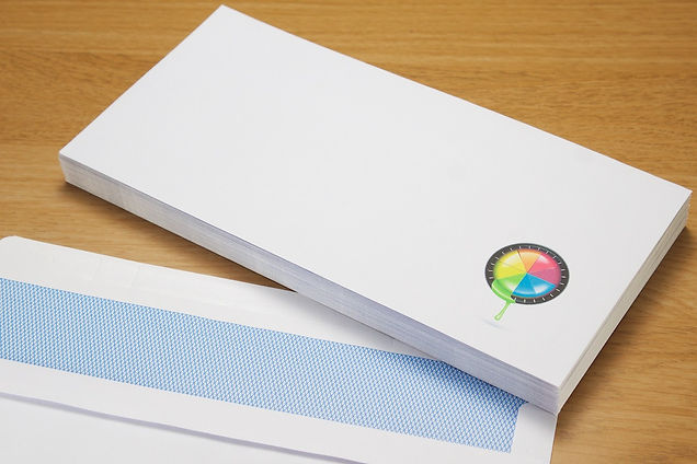 envelopes printed