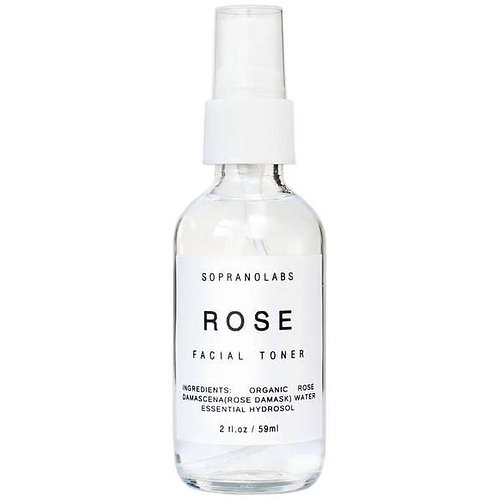 Rose Hydrating Mist Organic Face Toner