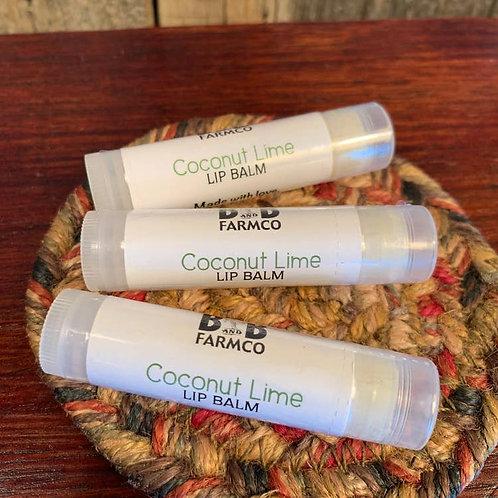 Goat Milk Coconut Lime Lip Blam