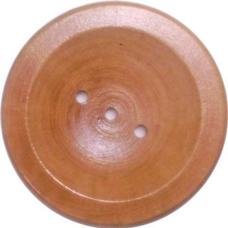 Small Round Wood Soap Dish