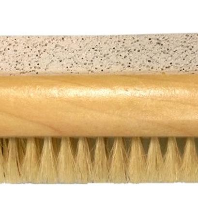 Wooden Pumice Nail Brush
