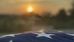 Dale's Memorial Flag Raising Ceremony