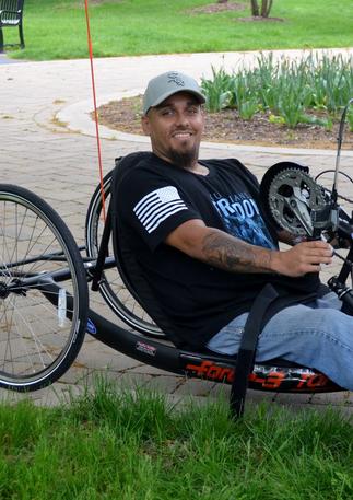 2018 Adaptive Bike Giveaway Recipient