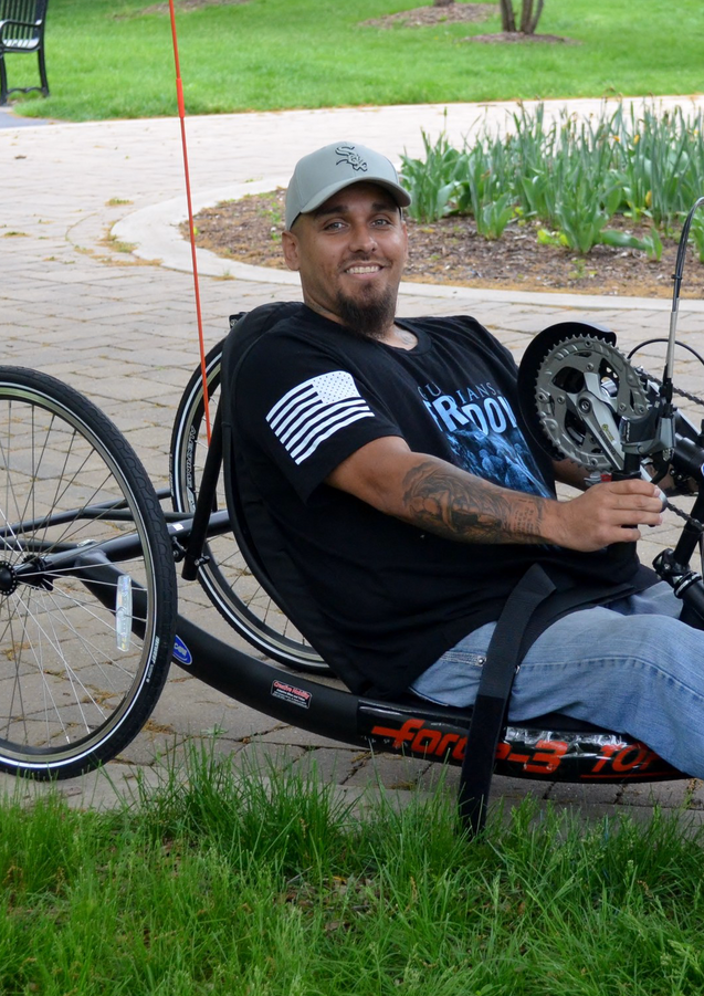 2018 Adaptive Bike Giveaway Recipient