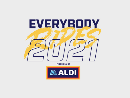 We are so excited to announce our Presenting Sponsor for Everybody Rides 2021.... ALDI USA!