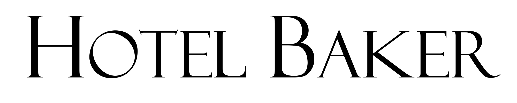 Hotel Baker Logo