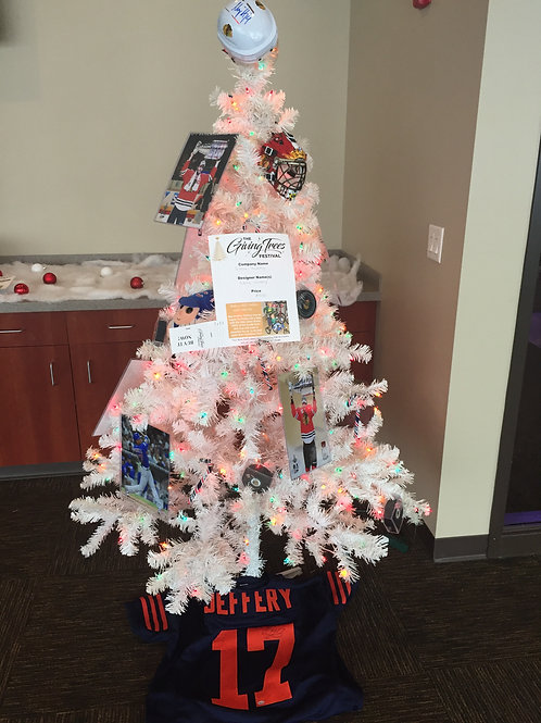 Sports Holiday Tree by Sideline Marketing