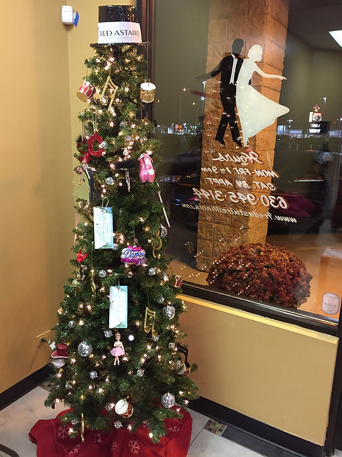 Fred Astaire Dance Studio Holiday Tree