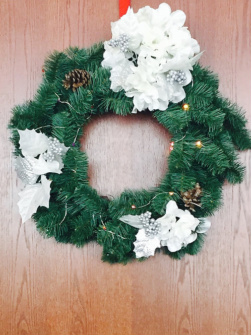 Holiday Wreath by Victoria Smith
