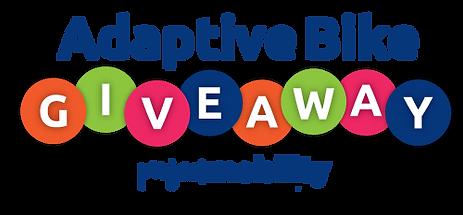 Adaptive Bike Giveaway logo no backgroun