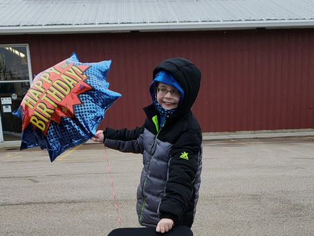 REID RECEIVED HIS BIKE & HAD THE BEST BIRTHDAY EVER!