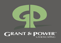 Grant and Power Landscaping Logo