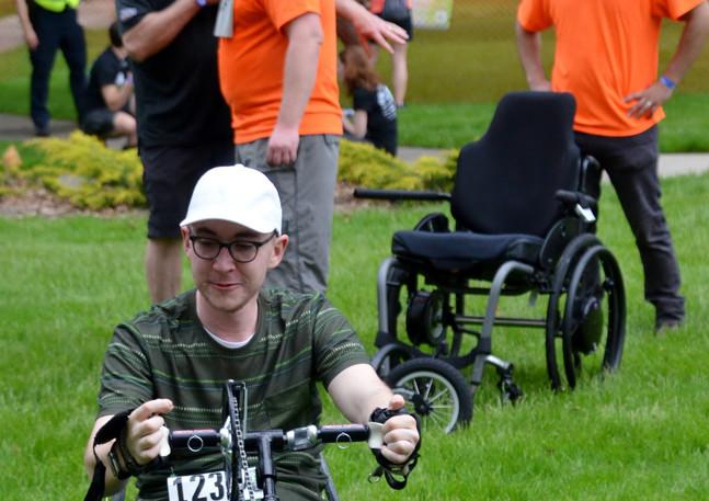 2019 Adaptive Bike Giveaway Recipient