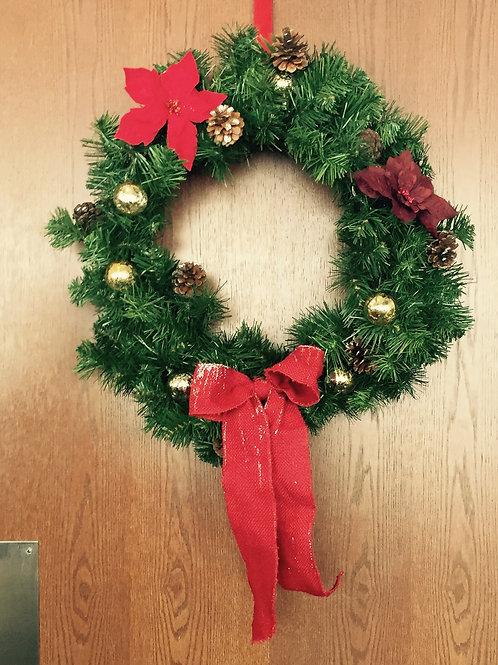 Holiday Wreath by Tara Rosetsky