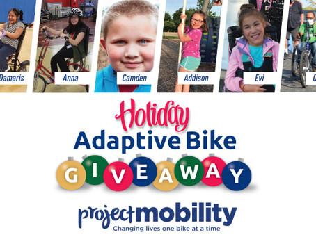 Holiday Adaptive Bike Giveaway 2020