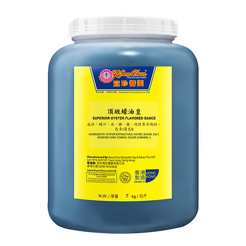 Superior Oyster Flavored Sauce, 7kg