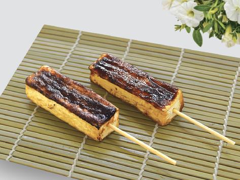 Japanese Dengaku Tofu Skewers 日式「田楽」豆腐