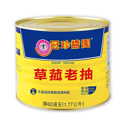 Mushroom Black Soy Sauce, 1.77L