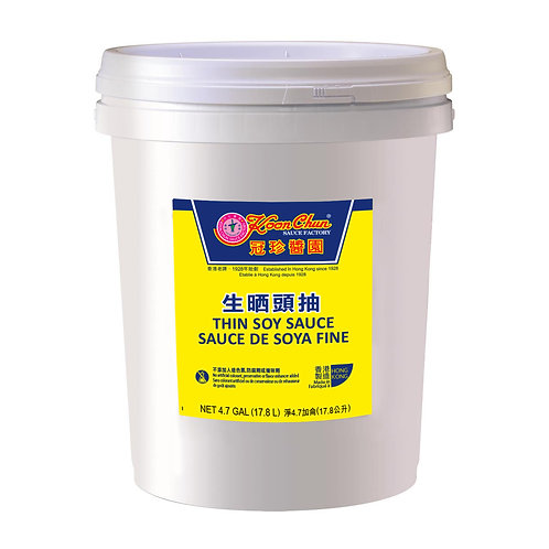 Thin Soy Sauce, 17.8L