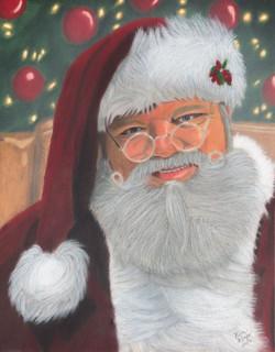 Santa of Paris