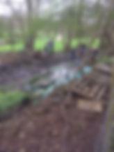 First PowderMill Lane Site Wet weather.J