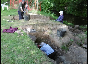 Brokes Mill Excavation 2020