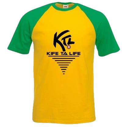 T-shirt KTL jaune
