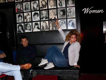 Jeff Husbands (comedian) & Maija Di Giorgio at the Comedy Store