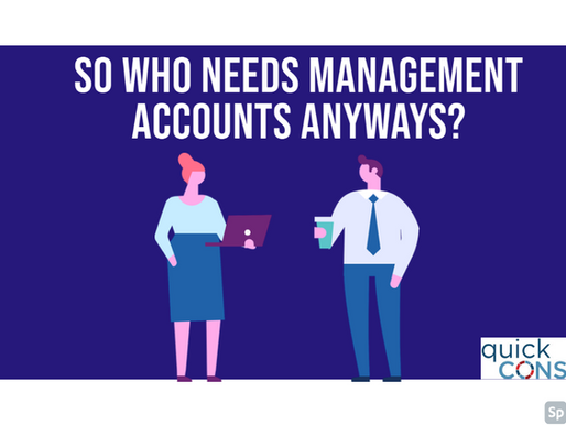 So who needs management accounts anyways?