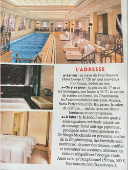 Soin Kobido - Hôtel George V