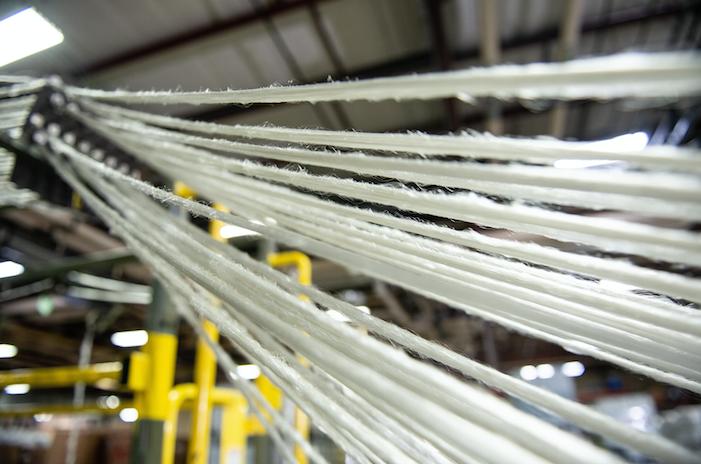 Le polyester est l'un des rares produits à bénéficier d'un circuit de recyclage industriel (Primaloft)