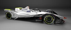 La Formule-E Pininfarina de Mahindra Racing