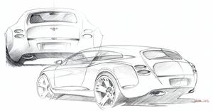 Touring Bentley Flting Star